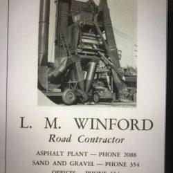 1948 - L.M. Winford Asphalt Plant